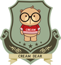 Official Creambear and Sammao Λογότυπο